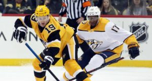 Could the Pittsburgh Penguins be looking at pending free agent forward Wayne Simmonds?