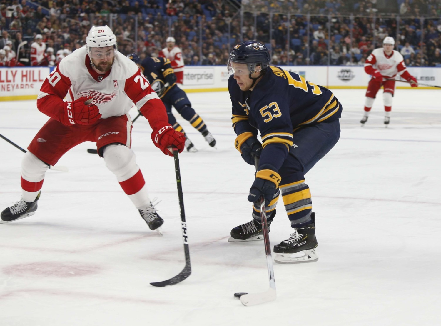 Sabres' Jeff Skinner Welcomes Higher Expectations With Extension