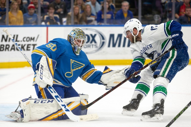 A Deeper Look At Jordan Binnington's Two-Year Pact With The