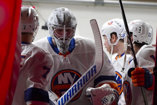 New York Islanders pending UFA Robin Lehner doesn't want to talk to other teams