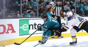 Gustav Nyquist could return to the San Jose Sharks