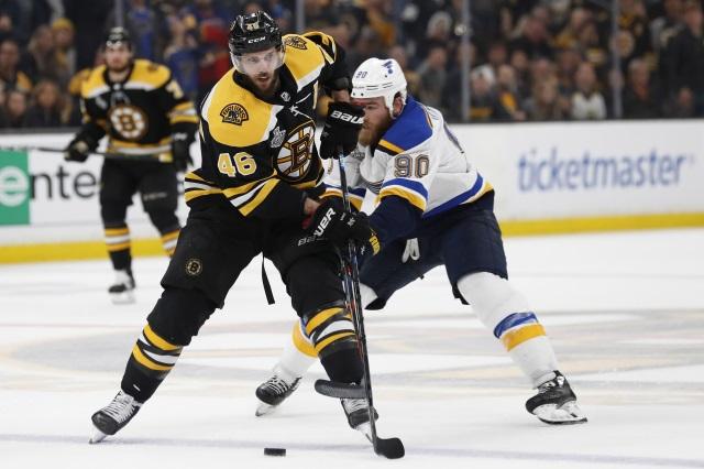 Will Bruins forward David Krejci Be A Cap Casualty In Boston?