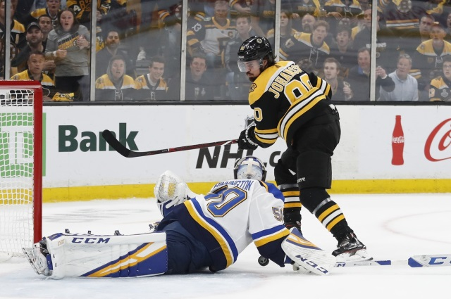 NHL Rumors: Vegas Golden Knights, Boston Bruins, and the