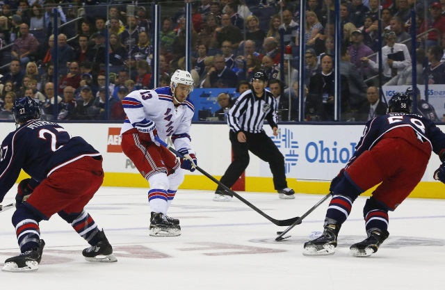 The Columbus Blue Jackets have some depth on the blue line that they could use to help fill some holes in their lineup.