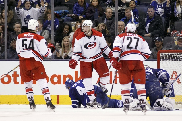 Teams continue to call the Hurricanes about their defensemen