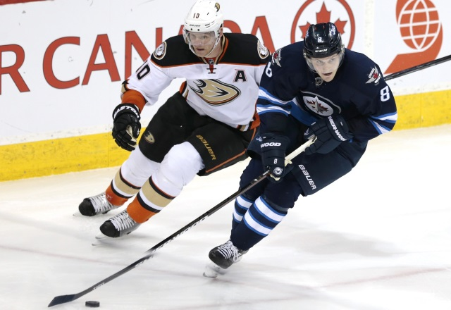 Winnipeg Jets trade Jacob Trouba to the New York Rangers