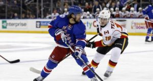 Mats Zuccarello could be an option for the Columbus Blue Jackets. The Calgary Flames, Matthew Tkachuk and their other RFAs