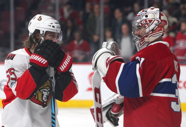 Erik Karlsson hoping to receive offer from Montreal Canadiens