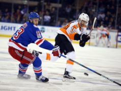Positive talks between the Philadelphia Flyers and Kevin Hayes