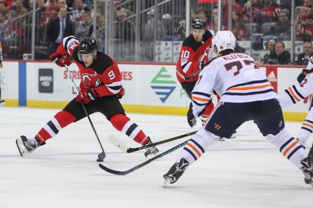 No formal talks between the New Jersey Devils and Taylor Hall's camp yet