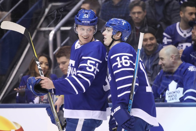 Jake Gardiner may have a handshake deal in place with a team that needs to trade a defenseman. Mitch Marner and the Toronto Maple Leafs dug in.