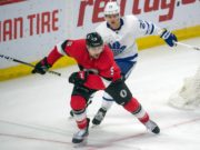 The Toronto Maple Leafs have traded defenseman Nikita Zaitsev, and forwards Connor Brown and Michael Carcone to the Ottawa Senators for defensemen Cody Ceci and Ben Harpur, forward Aaron Luchuk and a 2020 3rd round pick