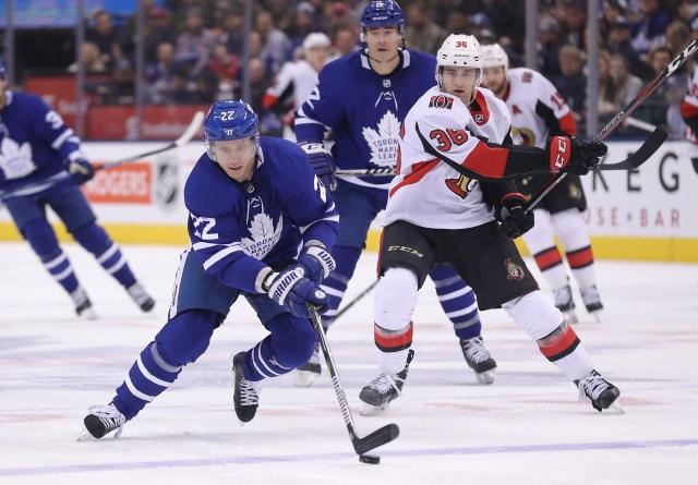 The Toronto Maple Leafs and Ottawa Senators closing in on a Nikita Zaitsev trade.