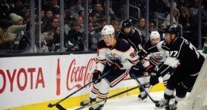 The Los Angeles Kings kicked tires on Edmonton Oilers Jesse Puljujarvi.