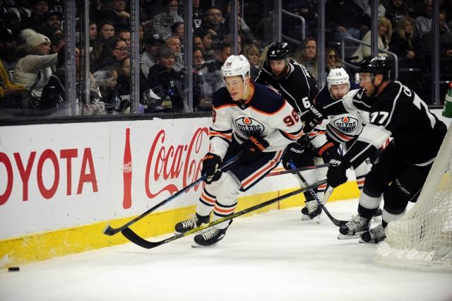 The Los Angeles Kings kicked tires on Edmonton Oilers Jesse Puljujarvi.
