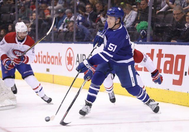 The Montreal Canadiens still have interest in defenseman Jake Gardiner