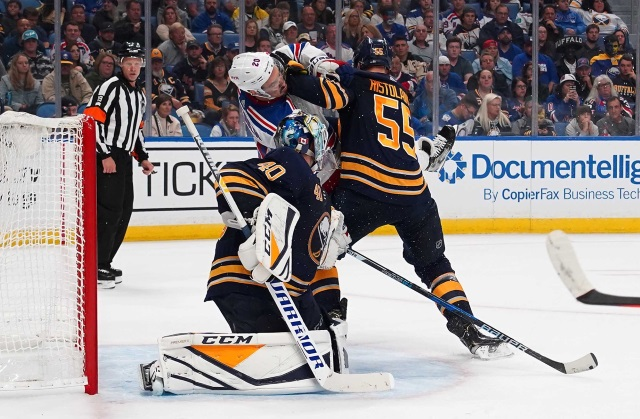 NHL Rumors: The New York Rangers need to move out some salary. Buffalo Sabres likely to move Rasmus Ristolainen but not a guarantee.