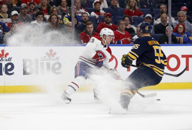 The Buffalo Sabres could be looking for a second-line center. Some option for the Montreal Canadiens if they are looking to add.
