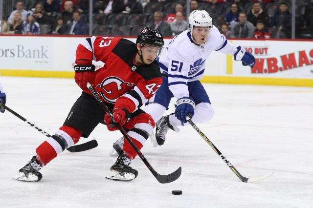 Jake Gardiner could be one player the New Jersey Devils look at adding.