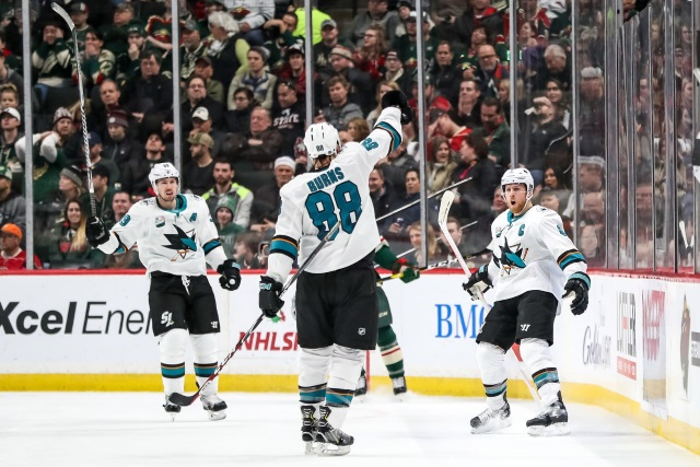 NHL Early Look: The San Jose Sharks suffer key personnel losses, but remain a Stanley Cup threat