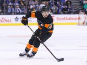 The Philadelphia Flyers avoid salary arbitration with Scott Laughton