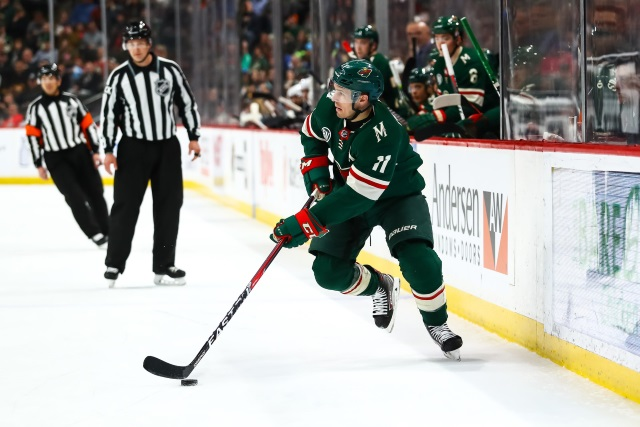 The Minnesota Wild checked out the trade market for Zach Parise