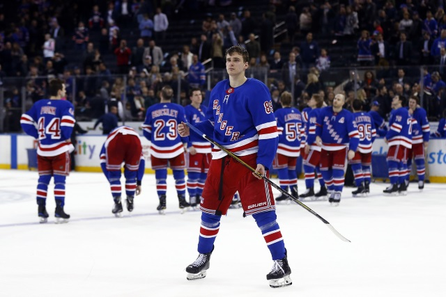 The New York Rangers and Pavel Buchnevich agree on a two-year deal.