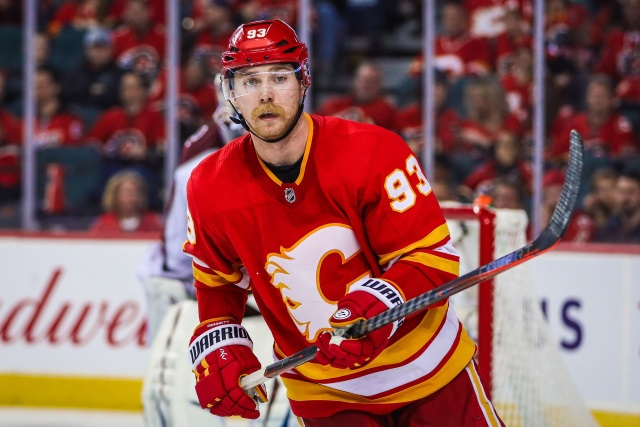 The Calgary Flames and Sam Bennett agree on a two-year bridge deal