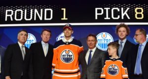 Edmonton Oilers draft pick Philip Broberg won't be attending camp and he'll be staying in Sweden next season