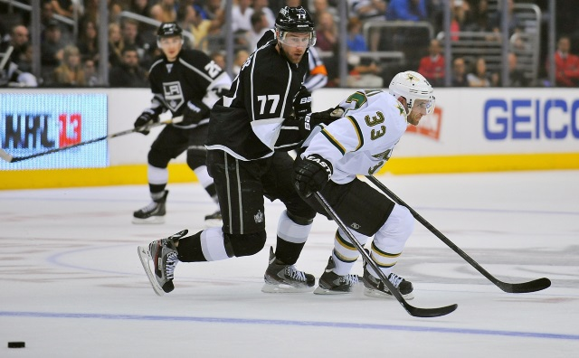 The Kings and Coyotes talked about a Jeff Carter for Alex Goligoski trade around the draft.