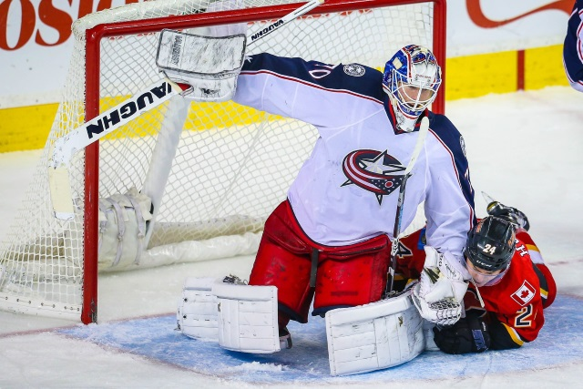 Columbus Blue Jackets have some salary cap for several options if need be. Will run with Joonas and Elvis in net to start.