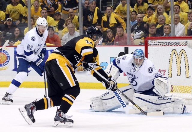 Chris Kunitz retires from the NHL. Andrei Vasilevskiy signs an eight-year contract extension.