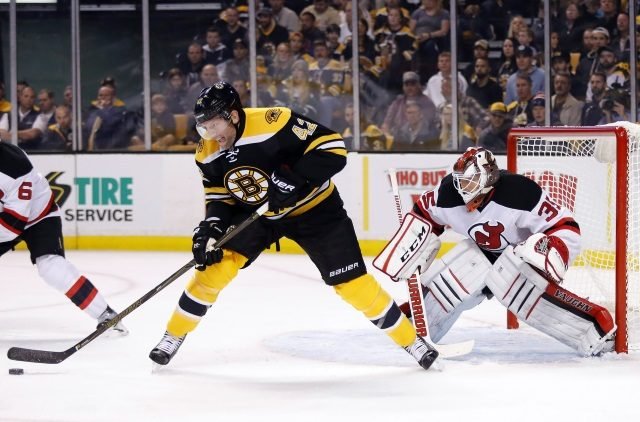 The New Jersey Devils have reportedly kicked tires on David Backes.