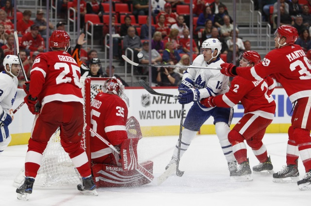 Anthony Mantha could get a nice raise. Mike Green could be dealt at the trade deadline.