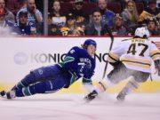 NHL Rumors: Vancouver Canucks GM talks Loui Eriksson, salary cap, and Brock Boeser. No new extension talks between the Boston Bruins and Torey Krug.