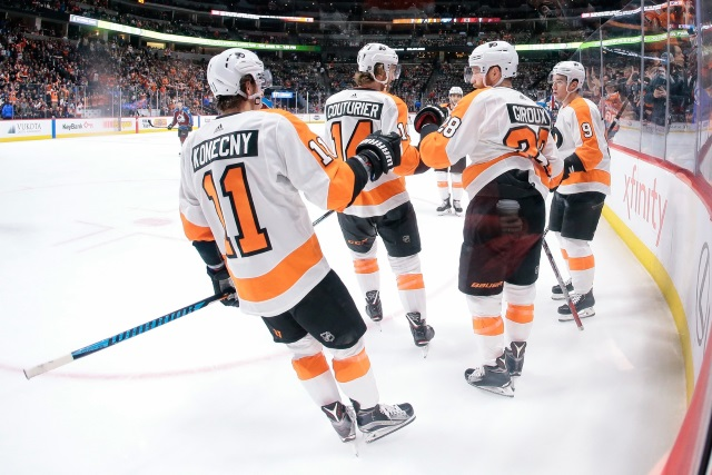 The Philadelphia Flyers still need to sign RFAs Ivan Provorov and Travis Konecny.