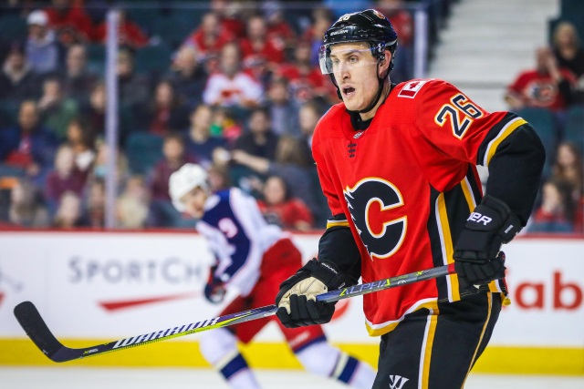 The Calgary Flames will be buying out defenseman Michael Stone
