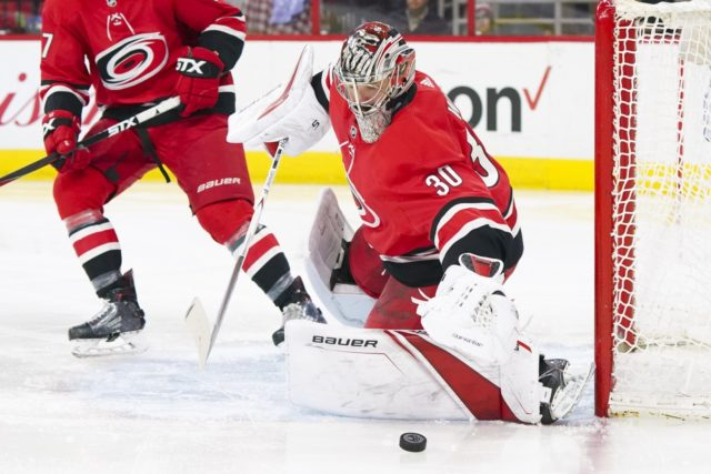 Cam Ward retires from the NHL after 14 seasons.