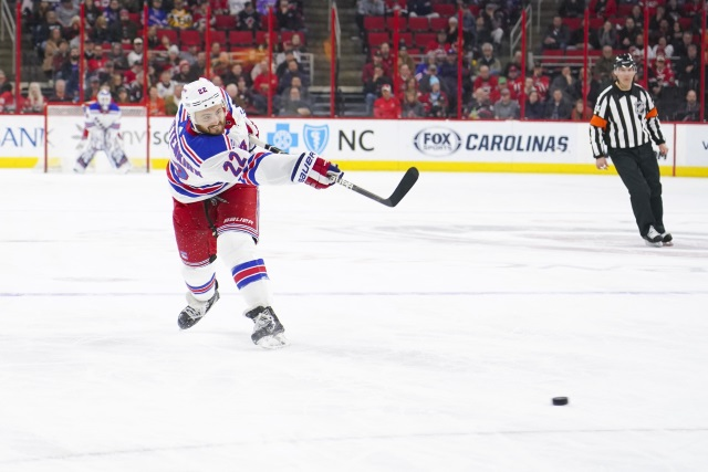 Six or seven teams showed interest in Kevin Shattenkirk before he decided to sign with the Tampa Bay Lightning.