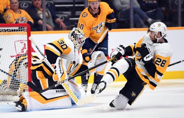 The Pittsburgh Penguins are in no rush to give Matt Murray an extension. Someone may need to go to re-sign Marcus Pettersson