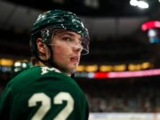 Kevin Fiala awaits a new contract as the Minnesota Wild search for a new GM.