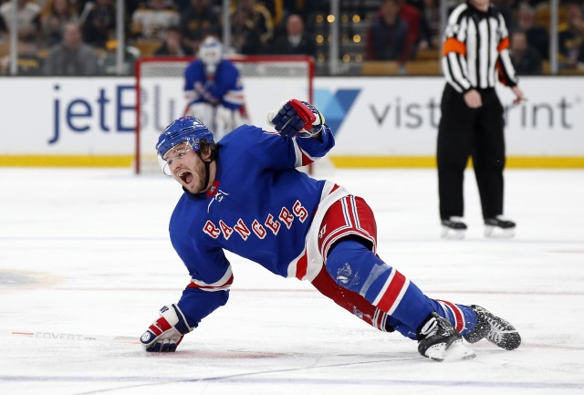 The New York Rangers and Brendan Lemieux are not close on a contract.