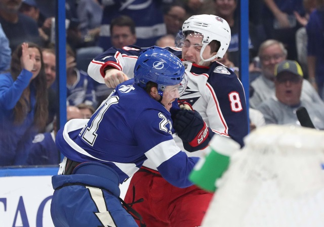 Restricted free agent forward Brayden Point and defenseman Zach Werenski are still looking for a new deal.