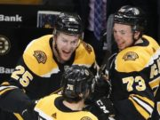 The Boston Bruins have a plan if Charlie McAvoy and Brandon Carlo aren't signed by training camp.