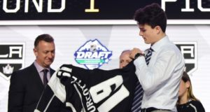 Alex Turcotte, the Los Angeles Kings 2019 first-round pick will be playing for Wisconsin (NCAA) this season, but he's a big part of their future plans.