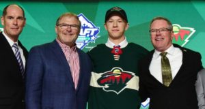 Looking at four Minnesota Wild prospects that might be able to crack the Wild's roster at some point this season, including 2019 first round pick Matthew Boldy.