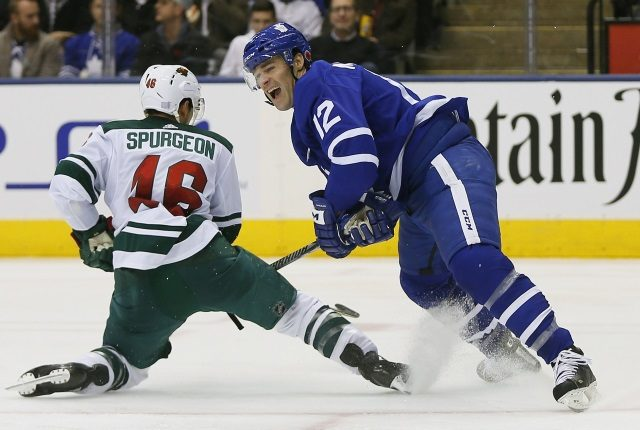 The Edmonton Oilers have talked to Patrick Marleau. The Minnesota Wild and Jared Spurgeon will start fresh with extension talks.