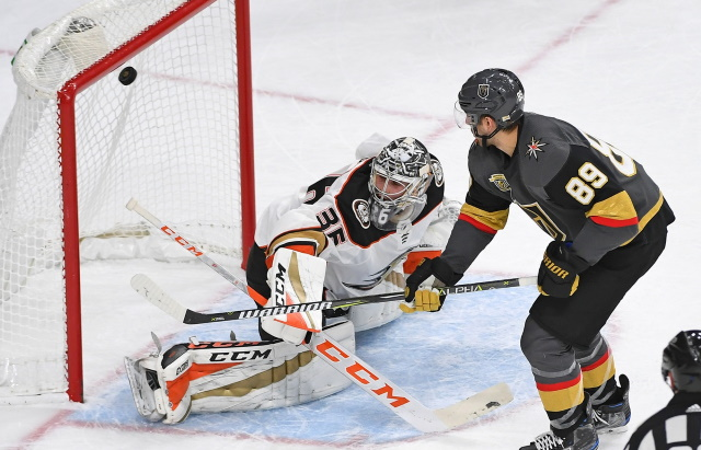 John Gibson and Alex Tuch are just two of several notable players dealing with injuries heading into the first week of the season.