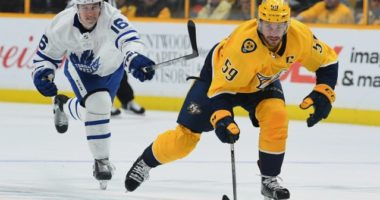 The Nashville Predators and Roman have talked but no contract extension yet.
