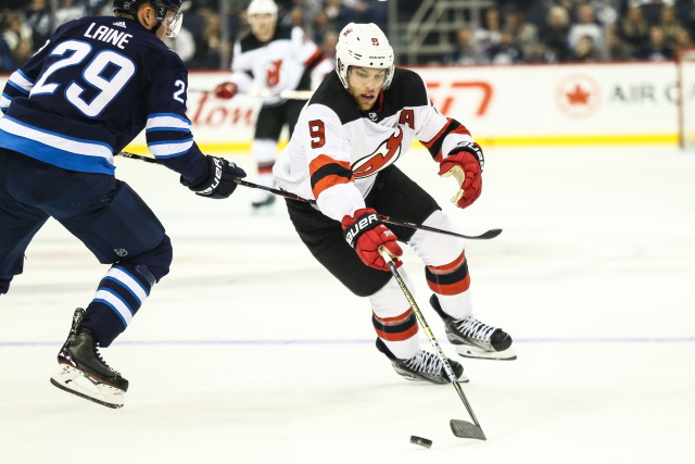 Devils and Taylor Hall's camp making some contract extension traction on the weekend. Teams calling Patrik Laine's camp.
